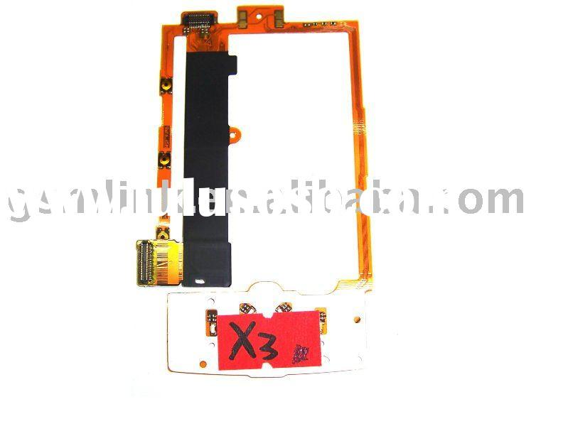 for NOKIA X3 flex cable ribbon mobile phone spare parts