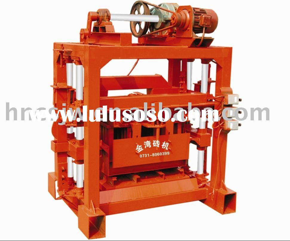 Cement Block Plant Machines : Concrete block making machine india