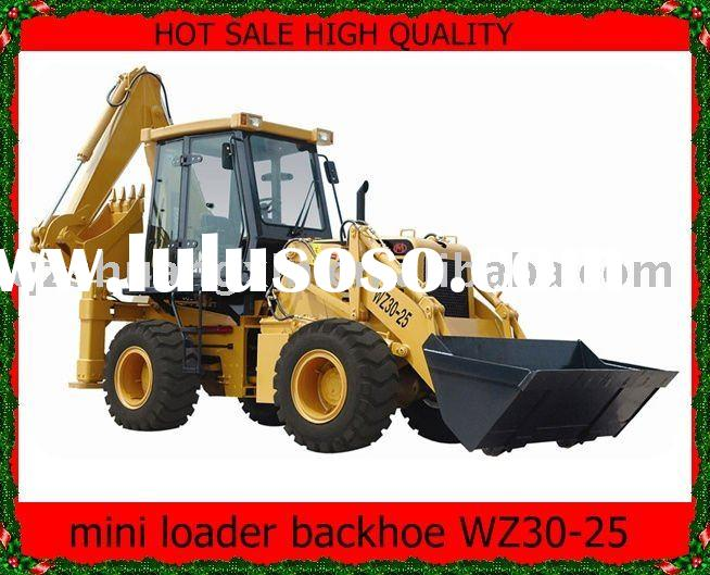 hot sale loader backhoe WZ30-25 for high quality