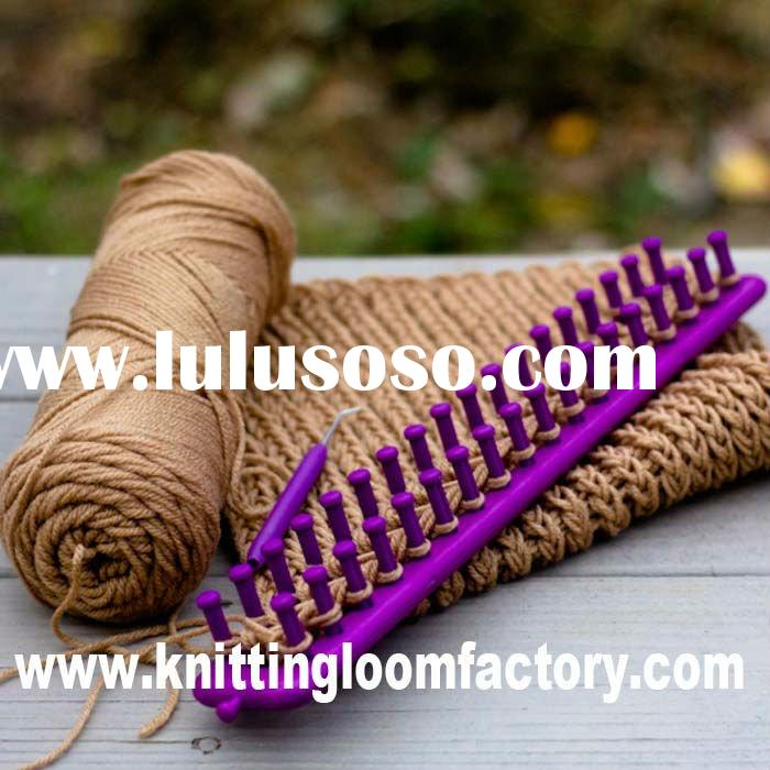 knitted slipper pattern long loom knitting