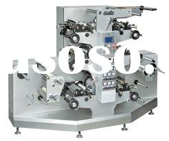 label printing press /flexo label printing machine/soft trademark printing machine (JR-242)=garment