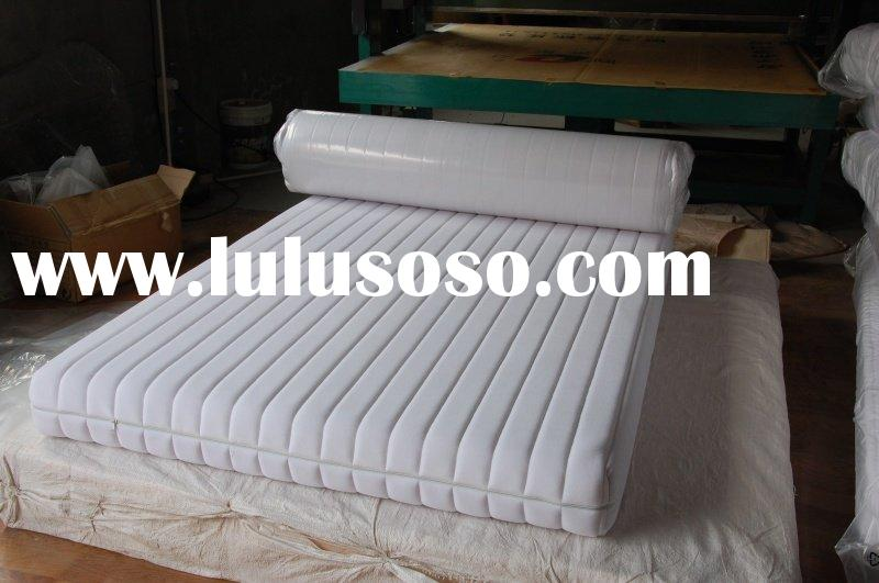 latex memory foam rolling mattress