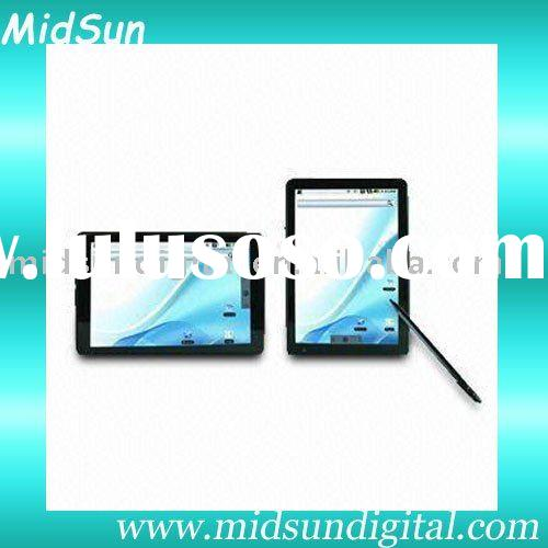 linux tablet pc,mid,Android 2.3,Cotex A9 1.2Ghz,Build in 3G,WIFI,GPS,Bluetooth,GSM/WCDMA,Cell Phone,