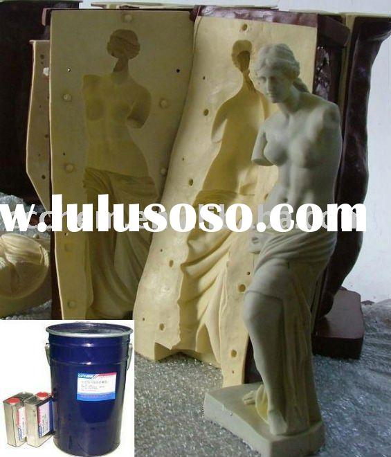 liquid silicone rubber molding for Sculpture crafts