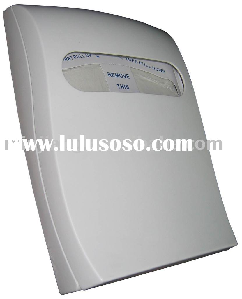 lockable toilet seat paper cover dispenser