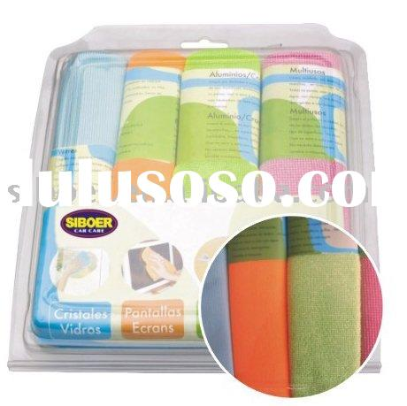 microfiber cleaning cloth/microfiber cloth