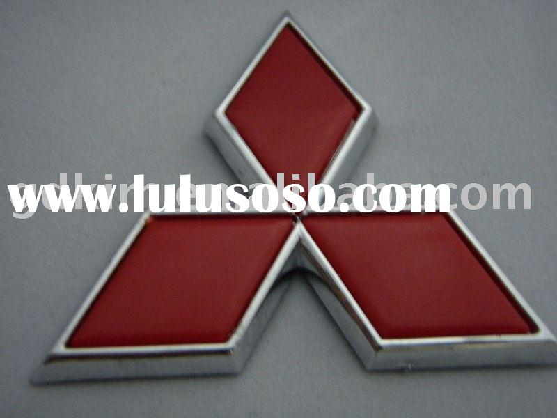 mitsubishi ABS chrome car badges,emblems,logo for outo accessories