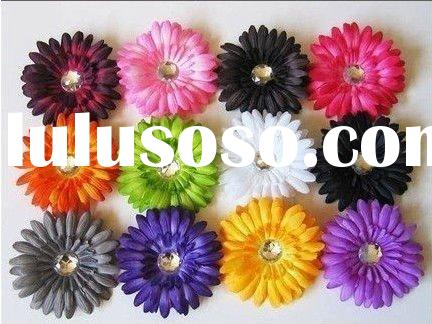 mix colors,wholesale baby headband/hair clip with flower/children hair accessories