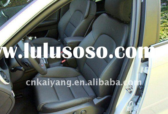 new design car seat cover in black color