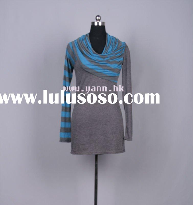 new style long sleeve tops for ladies 2011