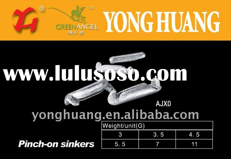 Lead sinkers for and fishing net lead sinkers for and for Types of fishing sinkers
