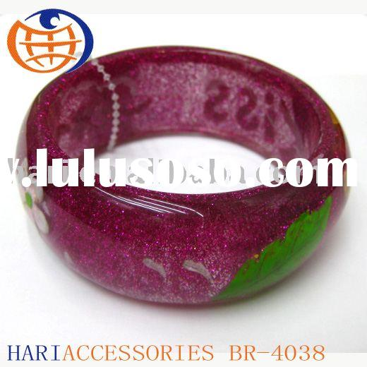plastic bracelet,cheap plastic bracelet,plastic bangle-4038