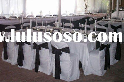 polyester banquet chair covers for weddings