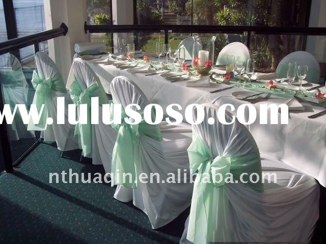 polyester universal chair cover for wedding and banquet