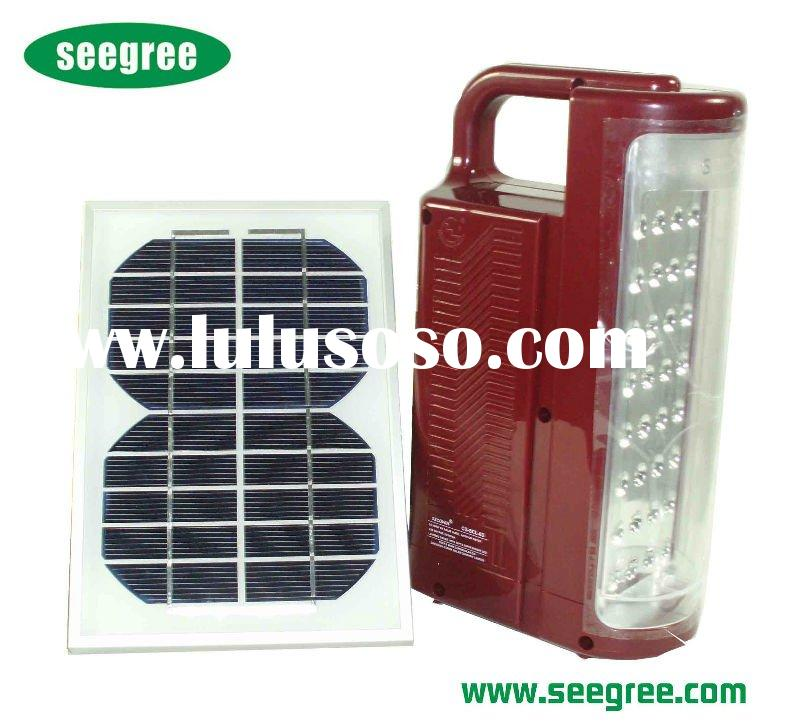portable 36pcs of super bright LED solar lamp indoor
