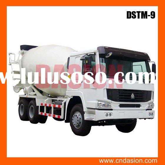 Professional supplier of dstm 9 concrete mixer truck price