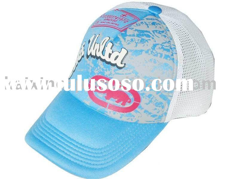 promotional trucker mesh caps printed letters and pictures