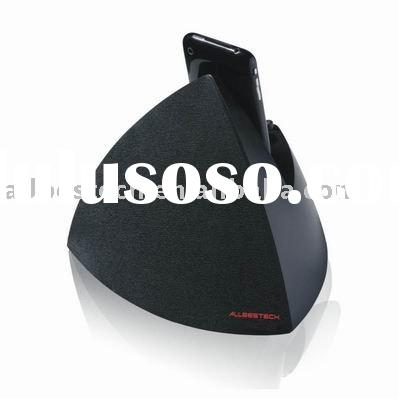 pyramid-shape docking station for iPod/iPhone