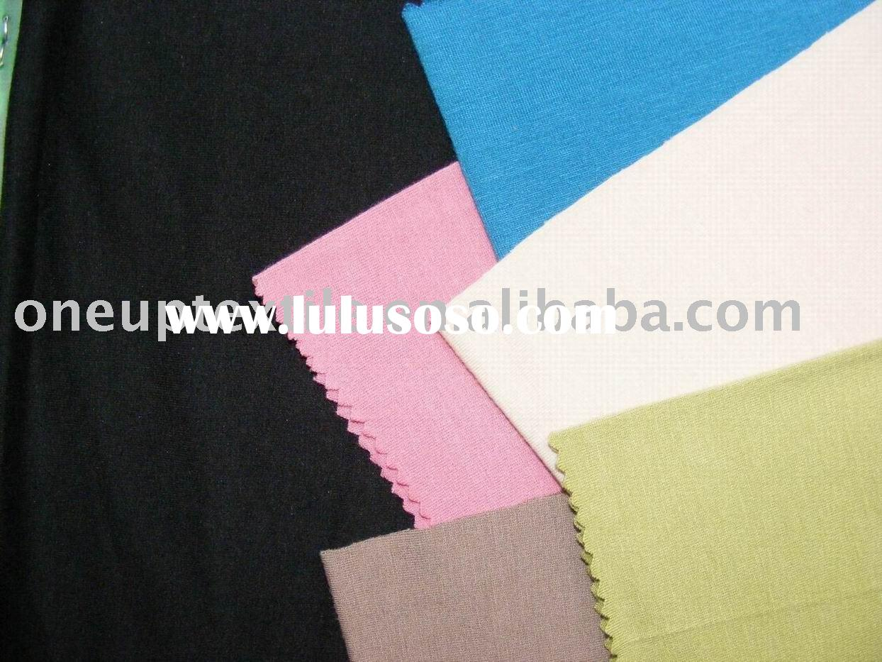 rayon spandex single jersey knitted fabric