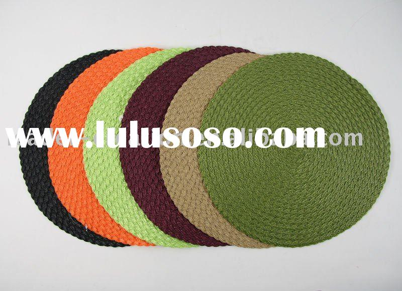 round pp table mat