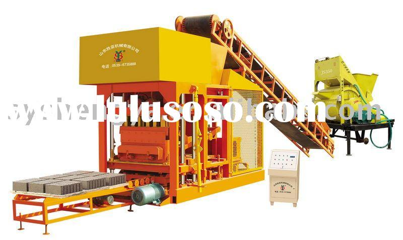 semi-automatic concrete block making machine(QTJ4-25)