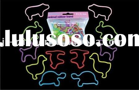 silicone rubber band animal shapes silicone rubber bands