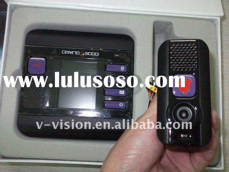 simple video door eye viewer with 4-in-1 security