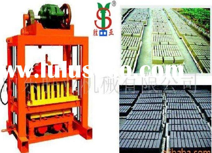 small block cement brick making machine QT4-40