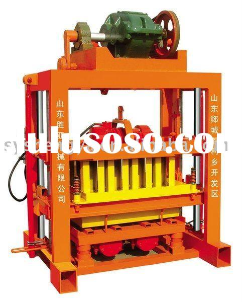 small manual concrete block making machine(QTJ4-40B)