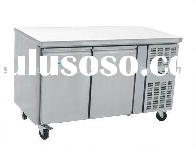 stainless steel 2 door Refrigerator Counter/Prep table/worktable benches deep freezer THP2100TN GN21