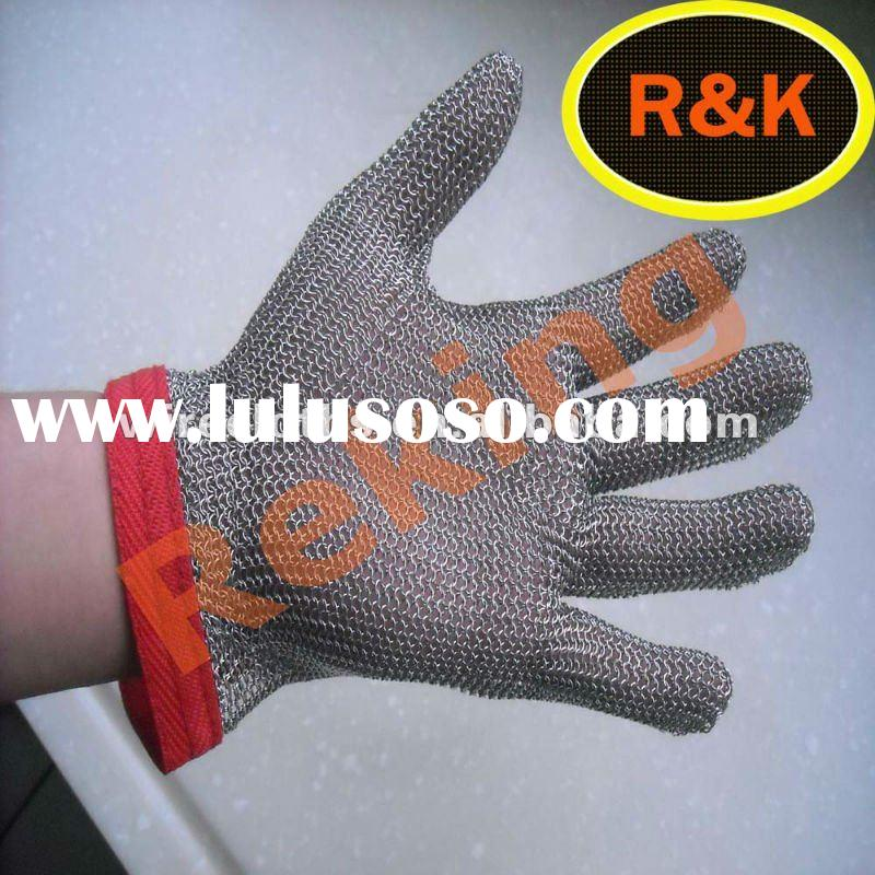 stainless steel wire mesh gloves