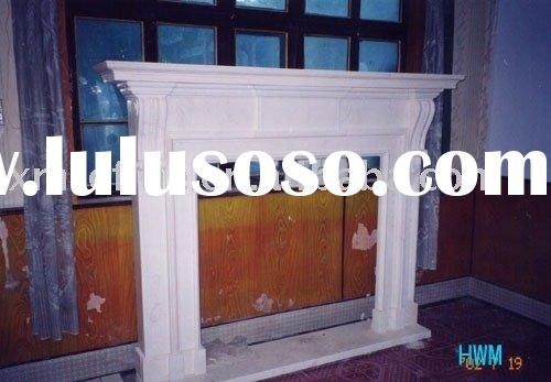 stone fireplace,decorative fireplace,marble mantle