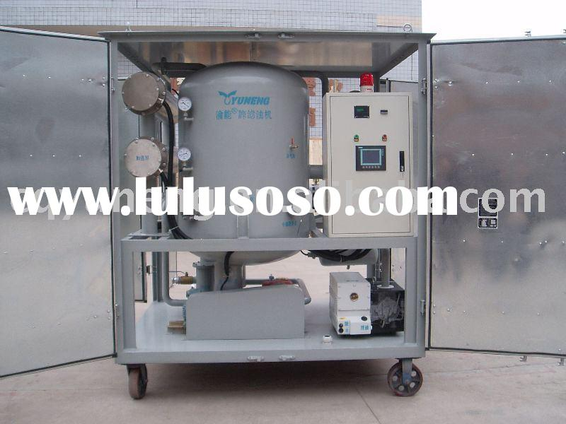 transformer oil machine oil treatment oil purification machine