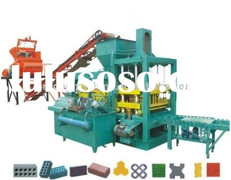 used concrete block making machine