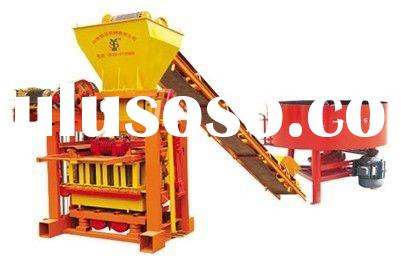 used concrete block making machine supplier QTJ4-40C