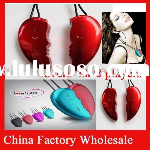 valentine mp3 fashion heart mp3 player,Lover's mp3 player ,the best gift for valentine&#