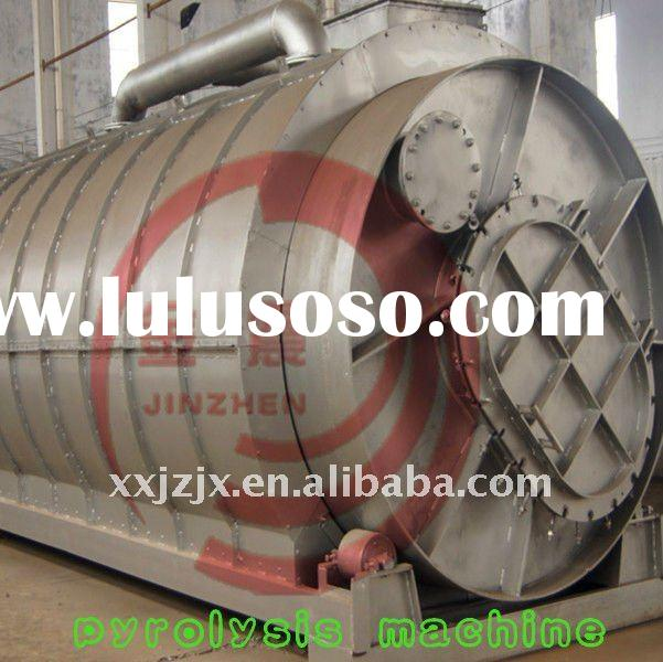 waste plastic recycling machine, tyre oil refining equipment