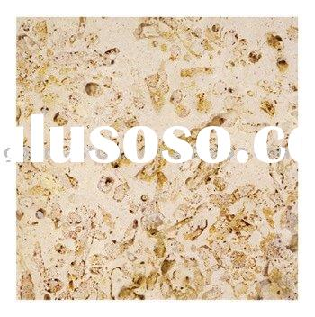 white artificial coral stone for wall material