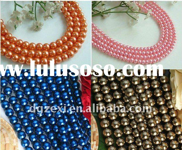 wholesale loose faux pearl for jewelry making