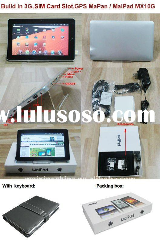 windows7 tablet pc with 3g phone call 3g wifi tablet pc low price 3G GSM phone call 3g Tablet PC wit