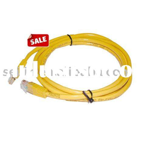wire harness CAT.5 UTP CABLE yellow