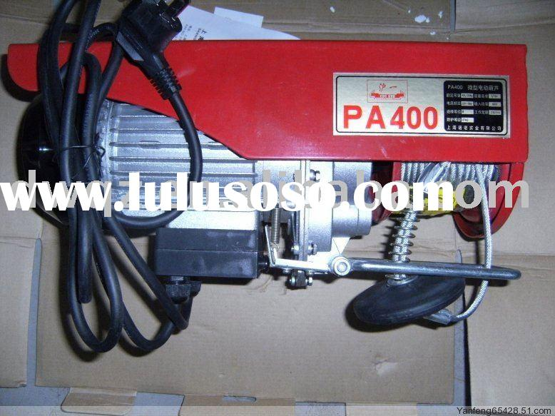 wire rope electric hoist PA1000