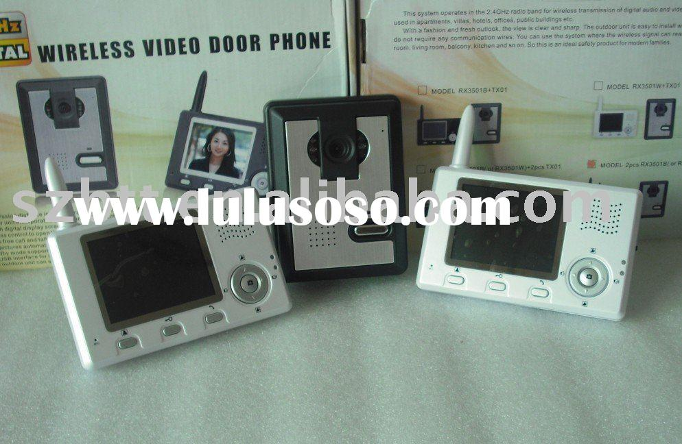 wireless Color hands-free door entry Video Intercom system BT-3501