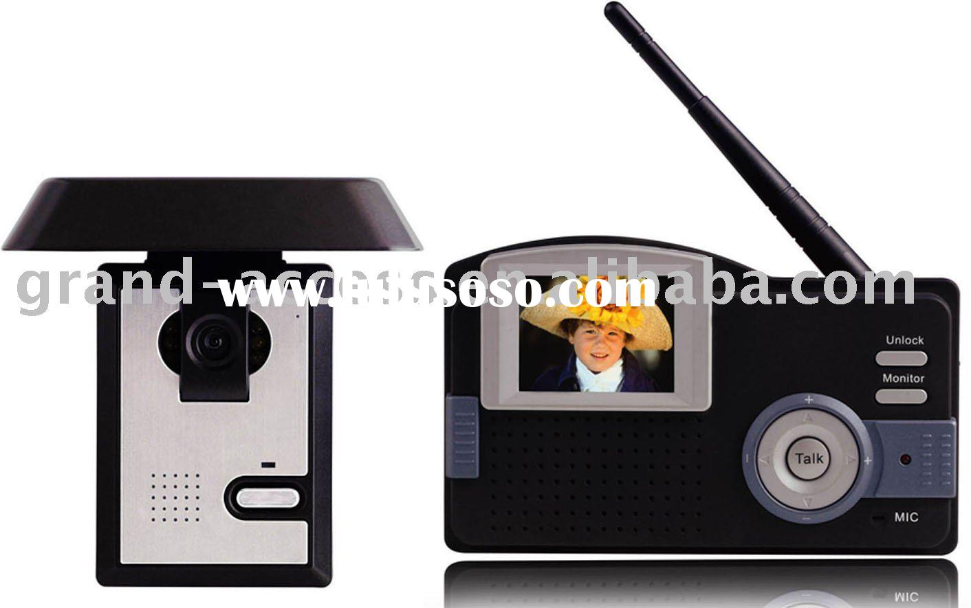 wireless colour video door phone with 2.4TFT screen GAI-A1-2