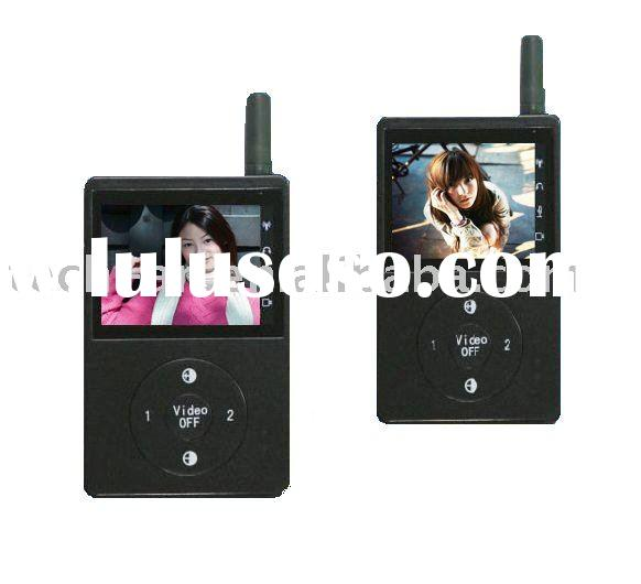 wireless remote control digital video door phone intercom