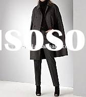 women's wool/cashmere cape coat