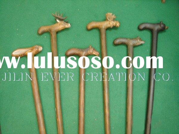 wood walking stick