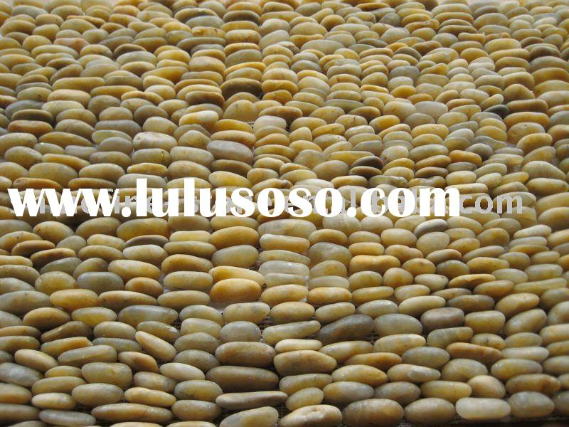 yellow nature river stone pebbles landscape stone
