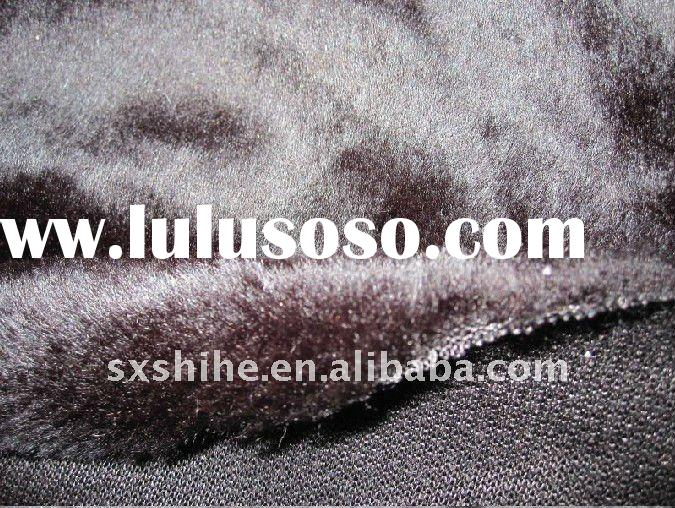 100%polyester/acrylic faux fur fabric for coat