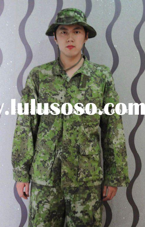 100% polyester army uniform for sale